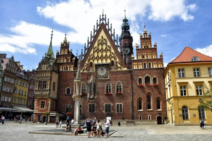 Wrocławski zabytkowy ratusz
